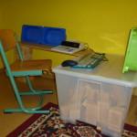 ein selbstgestaltetes Büro