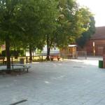 Eingangsbereich Schulhof